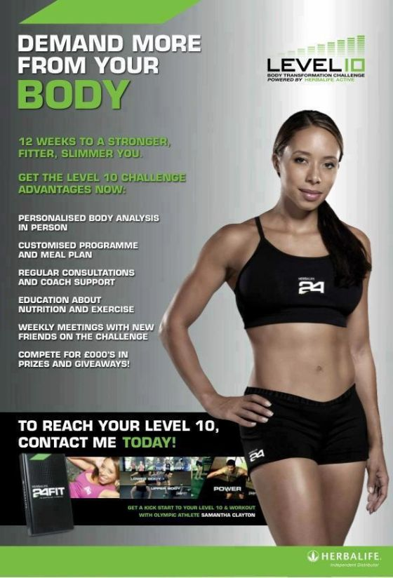 Independent Herbalife Member - New To Uk - Level 10 Body ...